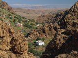 Hamlet and Valley, Tafraoute Region, Anti Atlas Mountains, Morocco, North Africa, Africa Photographic Print by Maxwell Duncan
