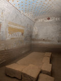 Wall Paintings in the Tomb of King Tanwetamani, Part of the Royal Cemetery, El Kurru, Sudan, Africa Photographic Print by Mcconnell Andrew
