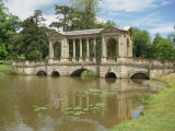 Palladian Bridge, Stowe, Buckinghamshire, England, United Kingdom, Europe Photographic Print by Hunter David
