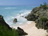 South Coast Beach, Bermuda, Central America, Mid Atlantic Fotografisk trykk av Harding Robert