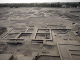 Grounds Surrounding the 3,500 Year-Old Mud-Brick Western Deffufa, Kerma, Sudan Photographic Print by Mcconnell Andrew