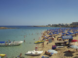 Beach, Figtree Bay, Ayia Napa, Cyprus, Mediterranean, Europe Photographic Print by O'callaghan Jane