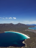 White Sand Beach, Wineglass Bay, Coles Bay, Freycinet National Park,Tasmania, Australia Photographic Print by Kober Christian