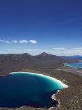 White Sand Beach, Wineglass Bay, Coles Bay, Freycinet National Park,Tasmania, Australia Photographic Print by Kober Christian