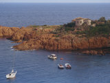 Cap Roux on the Corniche D'Esterel, Near Cannes on the Cote D'Azur, Provence, France Photographic Print by Hughes David