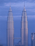Twin Towers of the Petronas Building, Kuala Lumpur, Malaysia, Southeast Asia Photographic Print by Gavin Hellier