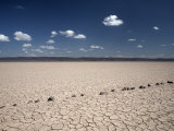 Flat Expanse of the Grand Barra Depression, Djibouti, Africa Photographic Print by Mcconnell Andrew