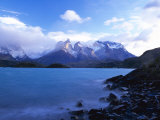 Cuernos Del Paine, Torres Del Paine National Park, Patagonia, Chile, South America Photographic Print by Gavin Hellier