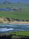 Aerial View over the Dingle Peninsula, County Kerry, Munster, Republic of Ireland, Europe Photographic Print by Maxwell Duncan