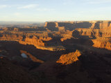 Sunrise at Dead Horse Point, Canyonlands National Park, Dead Horse Point State Park, Utah, USA Photographic Print by Kober Christian