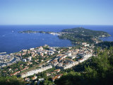 Town of Villefranche and Cap Ferrat on the Cote D'Azur, Provence, France, Europe Photographic Print by Lightfoot Jeremy