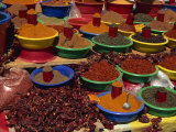 Spices on Sale in Market, Tunisia, North Africa, Africa Photographic Print by Lightfoot Jeremy