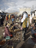 Shoa Gate, One of Six Gates Leading into the Walled City of Harar, Ethiopia Photographic Print by Mcconnell Andrew