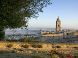Misty View, Medina Sidonia, Andalucia, Spain, Europe Photographic Print by Miller John
