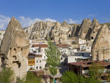 Goreme and Tufa Rock Formations in Cappadocia, Anatolia, Turkey Minor, Eurasia Photographic Print by Gavin Hellier