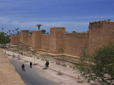 Taroudannt City Walls, Morroco, North Africa, Africa Photographic Print by Harding Robert