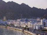 Mutrah Corniche Buildings, Muscat, Oman, Photographic Print
