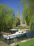 Holy Trinity Church from the River Avon, Stratford-Upon-Avon, Warwickshire, England, United Kingdom Photographic Print by Hunter David