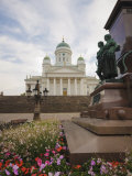 Lutheran Cathedral in Senate Square, Helsinki, Finland, Scandinavia, Europe Photographic Print by Kelly Michael