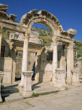 Columns of the Aphrodite Temple at the Archaeological Site of Aphrodisias, Anatolia, Turkey Minor Photographic Print by Lightfoot Jeremy