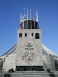 Metropolitan Cathedral of Christ the King, Liverpool, Merseyside, England, United Kingdom Photographic Print by Levy Yadid