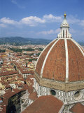 Dome of the Cathedral with the Skyline of Florence, UNESCO World Heritage Site, Tuscany, Italy Photographic Print by Lightfoot Jeremy
