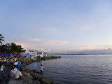 Manila Bay at Sunset, Manila, Philippines, Southeast Asia Photographic Print by Kober Christian