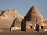 Beehive Graves, also known as Tholos Tombs, Al-Qasr, Dakhla Oasis, Egypt, North Africa, Africa Photographic Print by Mcconnell Andrew