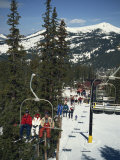 Ski Lift on Copper Mountain, Colorado, United States of America, North America Photographic Print by Lightfoot Jeremy
