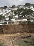 Outer Wall of the Ancient City of Harar, Ethiopia, Africa Photographic Print by Mcconnell Andrew