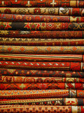 Carpets for Sale in the Grand Bazaar, Istanbul, Turkey, Europe Photographic Print by Levy Yadid