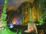 Zhijin Cave, the Largest in China at 10 Km Long and 150 High, Guizhou Province, China Photographic Print by Kober Christian