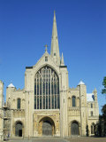 West Front of the Cathedral, Norwich, Norfolk, England, United Kingdom, Europe Photographic Print by Hunter David