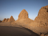 Royal Cemetery of Nuri, Burial Place of King Taharqa, Karima, Sudan Photographic Print by Mcconnell Andrew