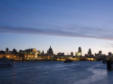 London Skyline at Dawn, London, England, United Kingdom, Europe Photographic Print by Kelly Michael