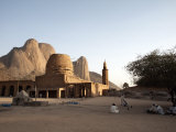 Khatmiyah Mosque at the Base of the Taka Mountains, Kassala, Sudan, Africa Photographic Print by Mcconnell Andrew