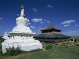 Shankh Buddhist Monastery, Ovorkhangai, Mongolia Photographic Print by Morandi Bruno