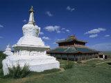 Shankh Buddhist Monastery, Ovorkhangai, Mongolia Photographic Print by Morandi Bruno