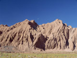 Bare Eroded Hills in San Pedro De Atacama, Chile, South America Photographic Print by Mcleod Rob