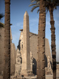 Luxor Temple, Luxor, Thebes, UNESCO World Heritage Site, Egypt, North Africa, Africa Photographic Print by Mcconnell Andrew