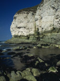 Limestone Cliffs, Thornwick Bay, Humberside, England, United Kingdom, Europe Photographic Print by Hodson Jonathan