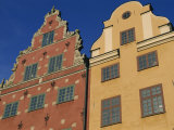 Houses Dating from the 17th Century in Stor-Torget, Stor Square, Stockholm, Sweden Photographic Print by Maxwell Duncan