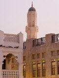 Souq Waqif, a Restored Souq of Mud Rendered Buildings, Doha, Qatar, Middle East Photographic Print by Gavin Hellier