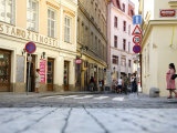 Street Scene in Stare Mesto, Prague, Czech Republic, Europe Photographic Print by Levy Yadid