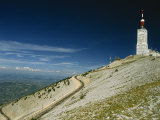 Summit of Mont Ventoux in Vaucluse, Provence, France, Europe Photographic Print by Hughes David