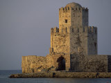 Venetian Fortress at Methoni, Peloponnese, Greece, Europe Photographic Print by Miller John