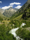 Veneon Valley in the Parc National Des Ecrins, Near Grenoble, Isere, Rhone-Alpes, France Photographic Print by Hughes David