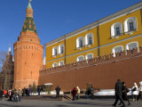 Tomb of the Unknown Soldier and Kremlin Wall, Moscow, Russia, Europe Photographic Print by Lawrence Graham