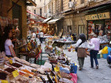 Vucciria Market, Palermo, Sicily, Italy, Europe Photographic Print by Levy Yadid