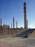 Persepolis, UNESCO World Heritage Site, Iran, Middle East Photographic Print by Harding Robert